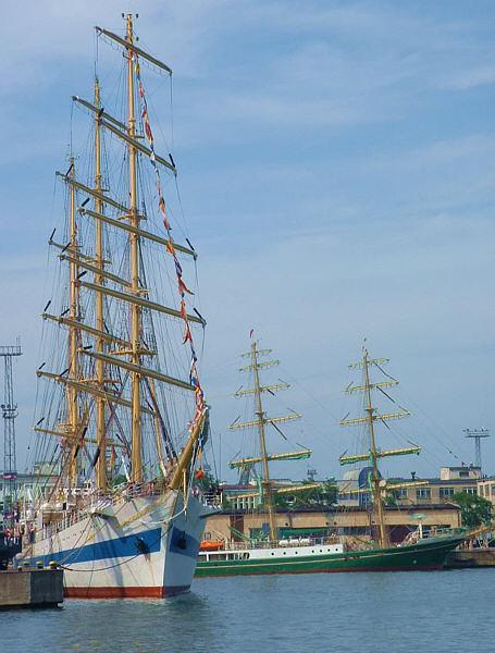 Tall Ships' Races 2009 - regaty, parada żaglowców w Gdyni