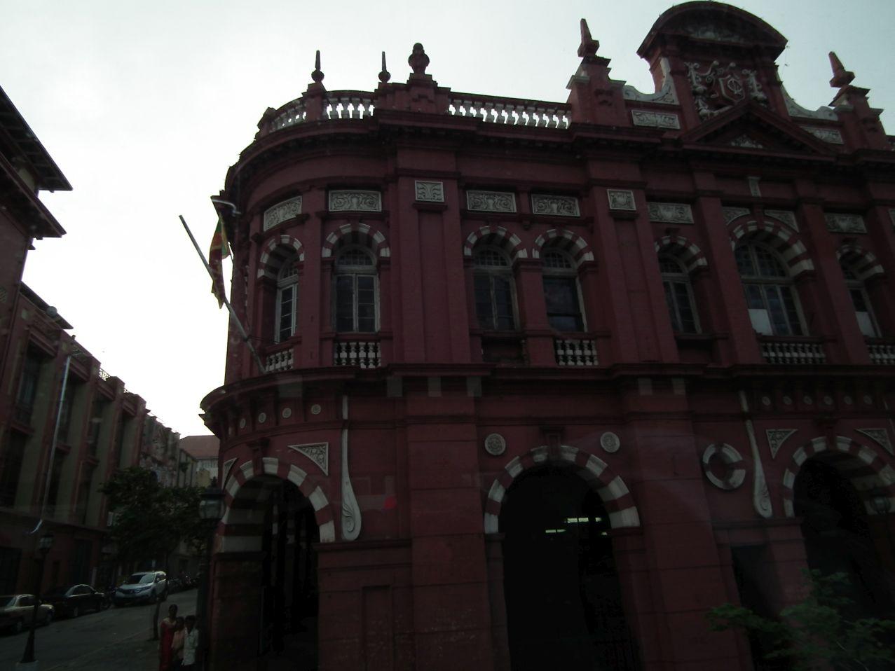 Angielska kolonialna zabudowa w centrum Kolombo