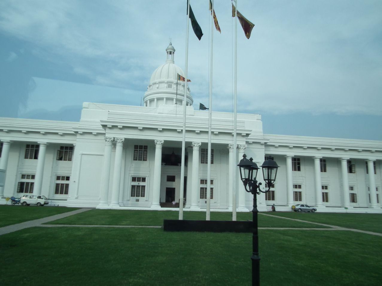 Colombo budynek  parlamentu