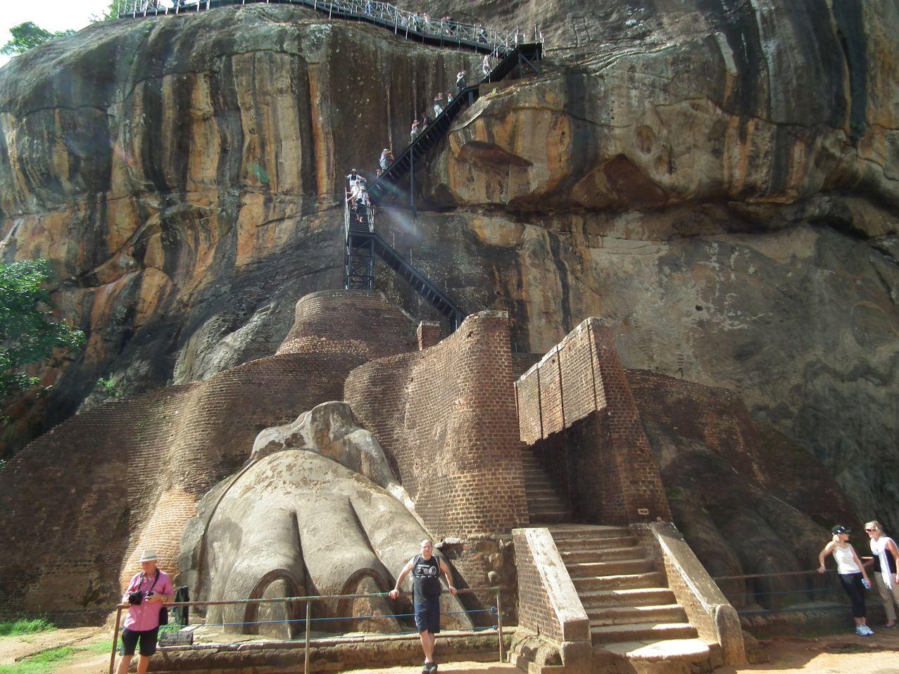 Sigiriya Pazury - Lwia Skała