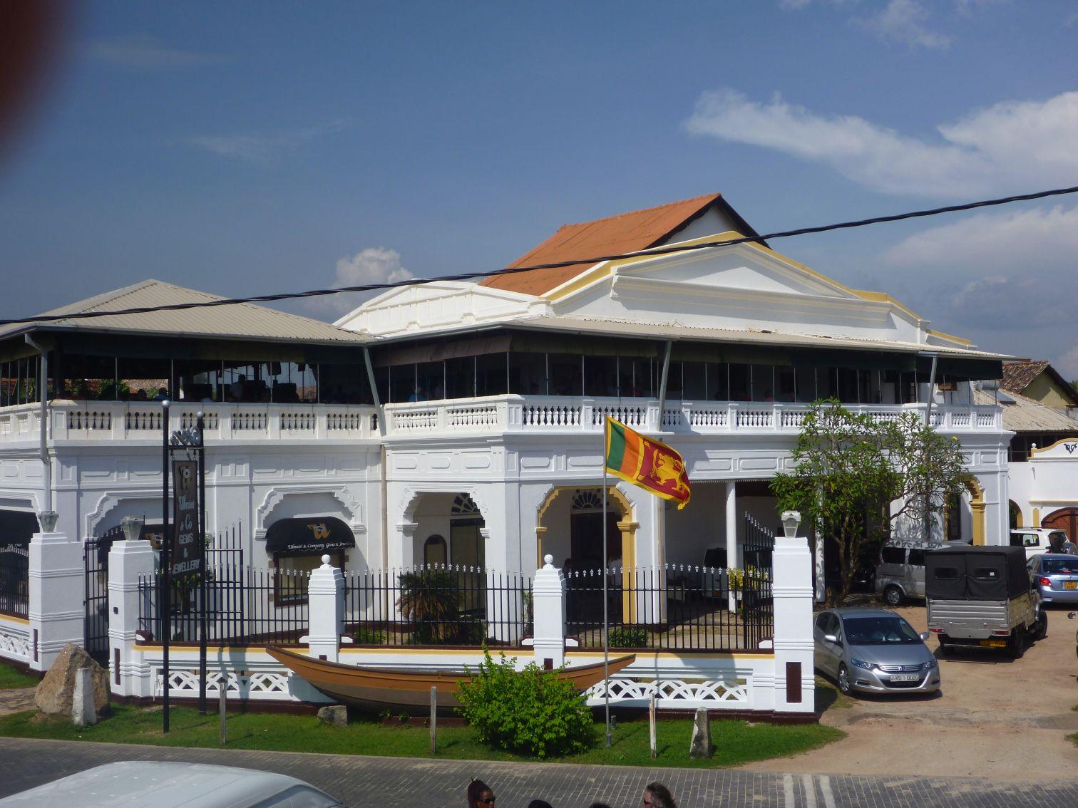 Restauracja w Galle