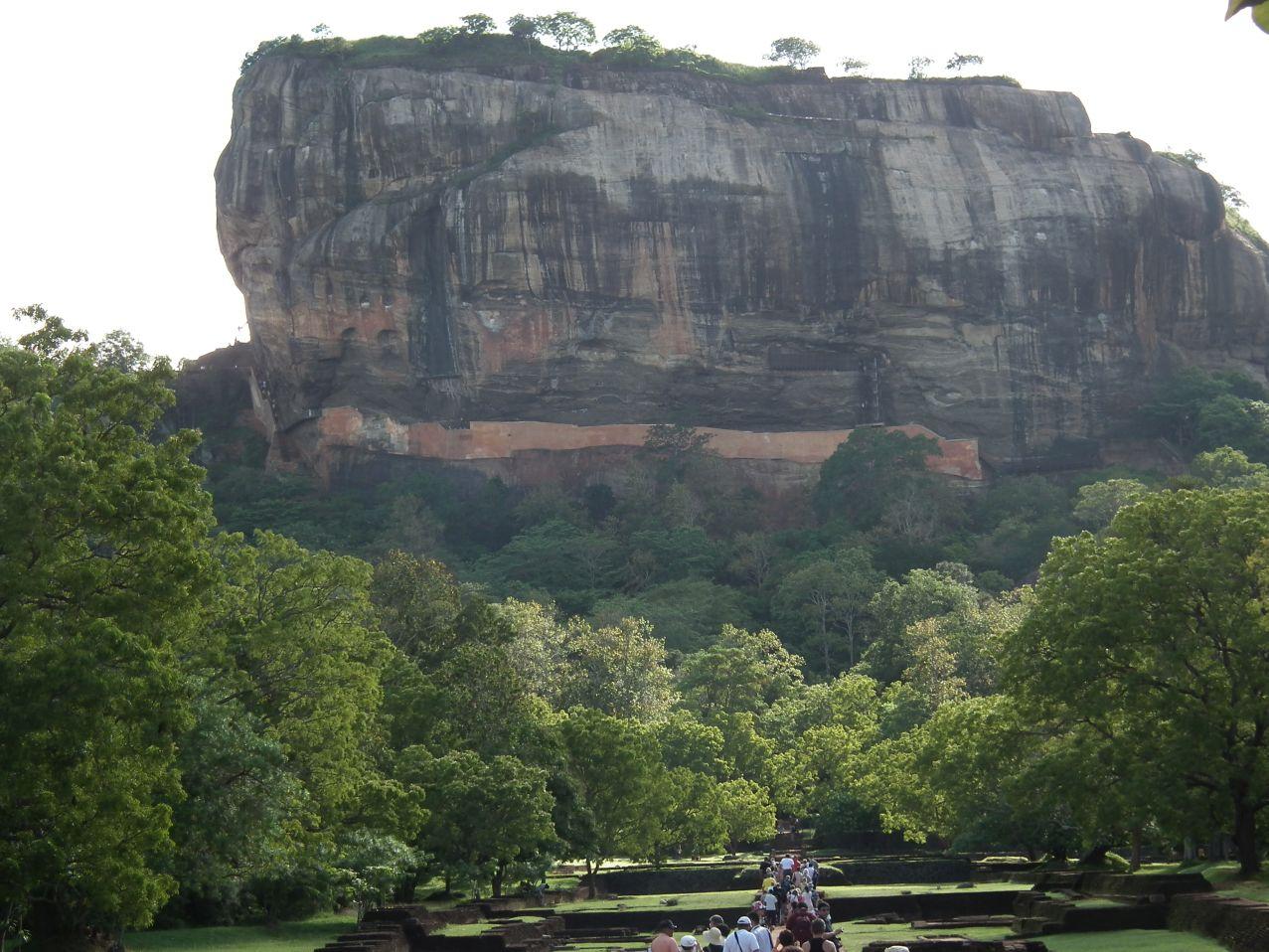Sigiriya Sigirija - Lwia Skała