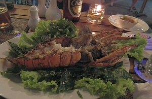 Langusta - tajska kuchia to bogacto owoców morza