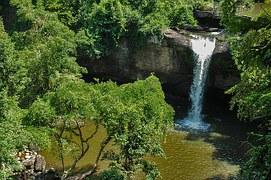 Wodospad w parku Khao Yai