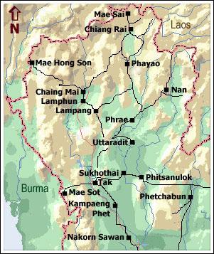 Północna Tajlandia